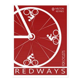 Milton Keynes Redways postcard