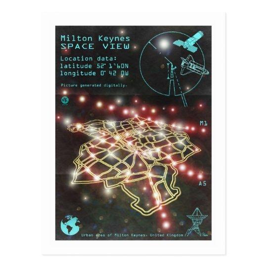 Milton Keynes Space View postcard