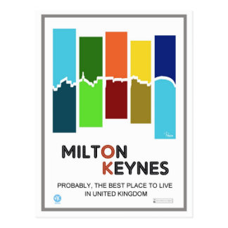 Milton Keynes The Best Place postcard