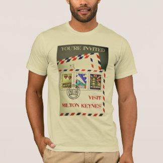 Milton Keynes travel advert t-shirt