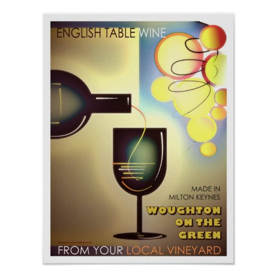 Milton Keynes Winemakers poster art/print