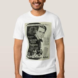 Milton Sills 1926 vintage movie ad T-shirt