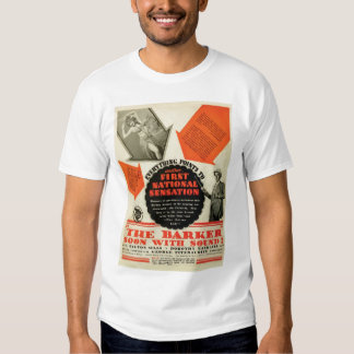 Milton Sills 1928 movie poster T-shirt