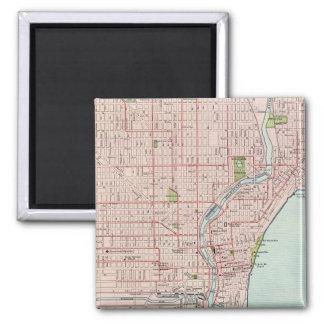 Milwaukee 2 square magnet