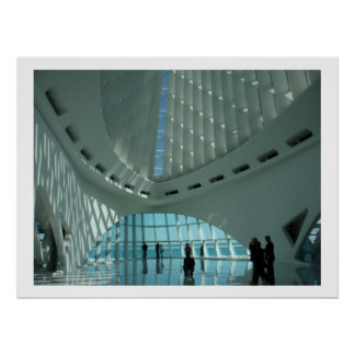 Milwaukee Art Museum Poster