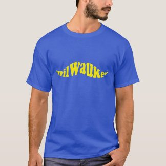 Milwaukee Baseball Mustache T-Shirt