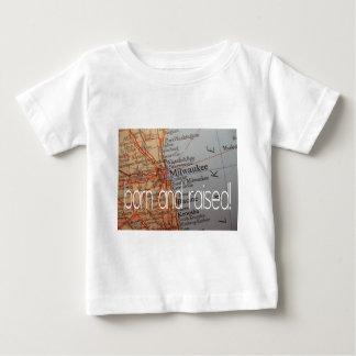 Milwaukee born and raised baby T-Shirt