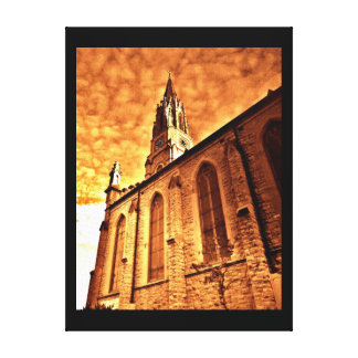 Milwaukee Church Canvas Print