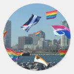 Milwaukee Pride Round Sticker