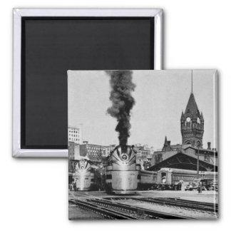 Milwaukee Railroad Milwaukee Station Magnet
