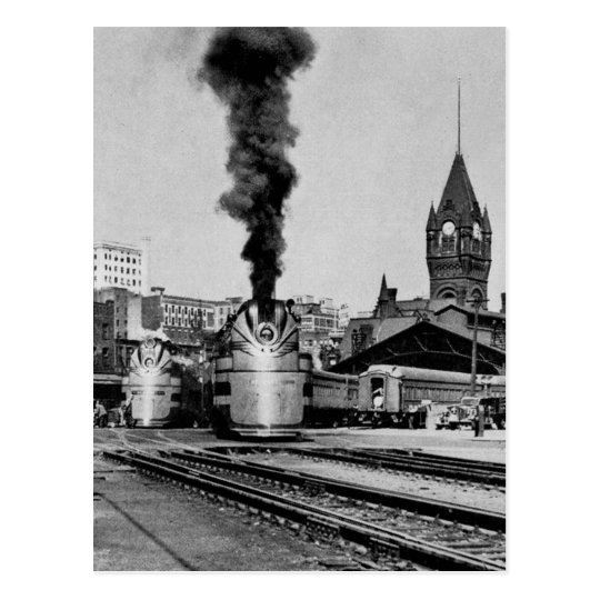 Milwaukee Railroad Milwaukee Station Postcard