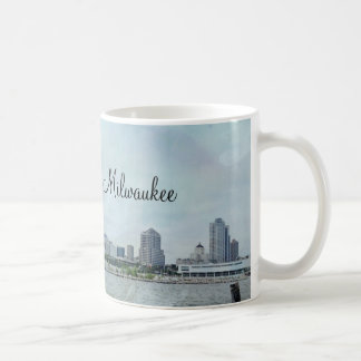 Milwaukee shoreline coffee mug