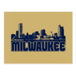 Milwaukee Skyline Postcards