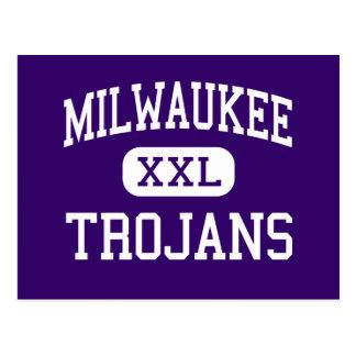 Milwaukee - Trojans - Trade - Milwaukee Wisconsin Postcard