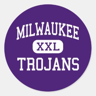 Milwaukee - Trojans - Trade - Milwaukee Wisconsin Stickers