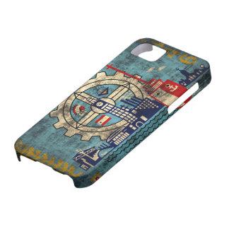 Milwaukee Wisconsin Grunge iPhone 5 Barely  Case