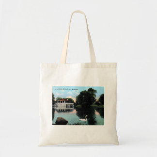 Milwaukee, Wisconsin, Humboldt Park, Vintage Tote Bag