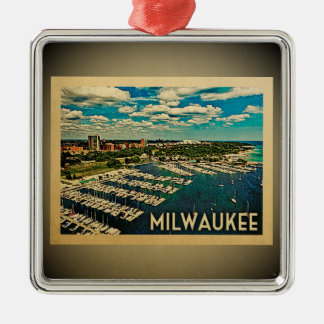 Milwaukee Wisconsin Ornament Vintage Travel