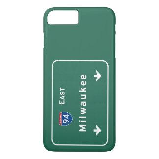 Milwaukee Wisconsin wi Interstate Highway Freeway iPhone 7 Plus Case