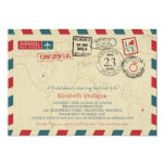 Milwaukee World Traveller Airmail | Bridal Shower 13 Cm X 18 Cm Invitation Card