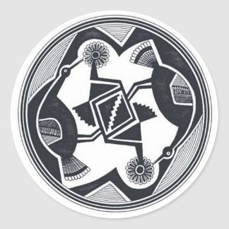 Mimbres Birds sticker