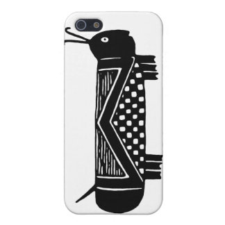 Mimbres Grasshopper #2 Case For The iPhone 5