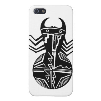 Mimbres Spider #3 iPhone 5/5S Cases