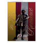 Mime Elegance Love and Romance Greeting Card