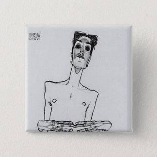 Mime van Osen 15 Cm Square Badge