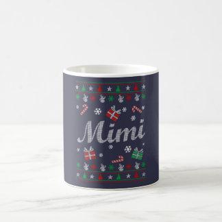 Mimi Christmas Basic White Mug