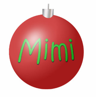Mimi Christmas Ornament Photo Sculpture Decoration