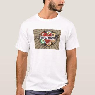 mimi heart ladies T T-Shirt