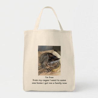 mimi is free grocery tote bag