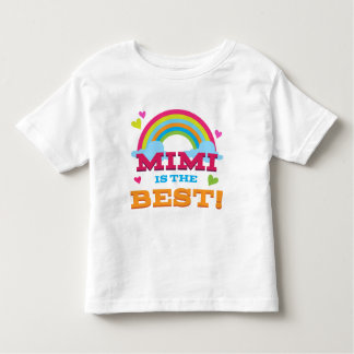 Mimi Is the Best Toddler T-Shirt
