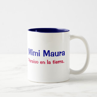 Mimi Maura Two-Tone Mug