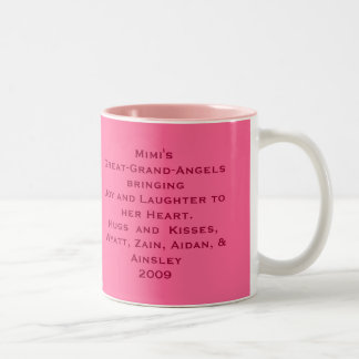 mimi mug, Mimi's Little Angels bringingJoy and ... Two-Tone Mug