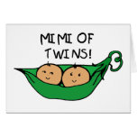 Mimi of Twin Pod Greeting Card