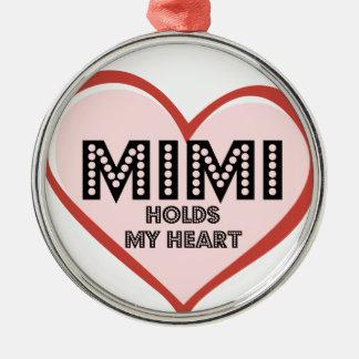 Mimi Round Ornament