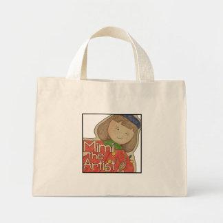 Mimi the Artist Mini Tote Bag