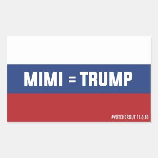 Mimi = Trump Russian Flag Sticker