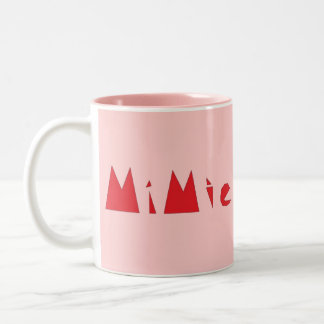 Mimie Design Two-Tone Mug