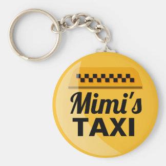 Mimi's Taxi Keychain