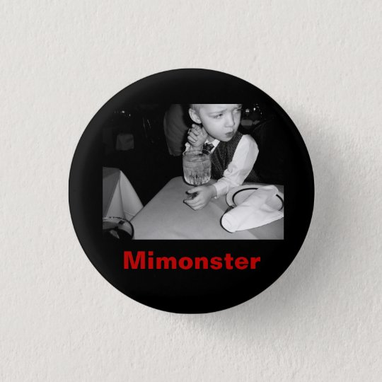 MiMonstersbw, Mimonster 3 Cm Round Badge