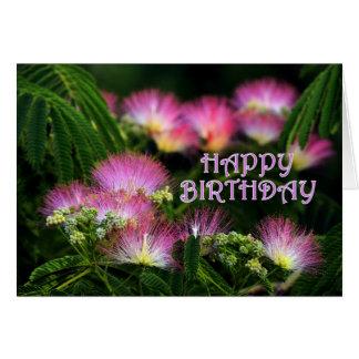 Mimosa Birthday Card