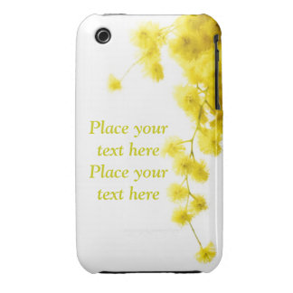 Mimosa iPhone 3 Case-Mate Case