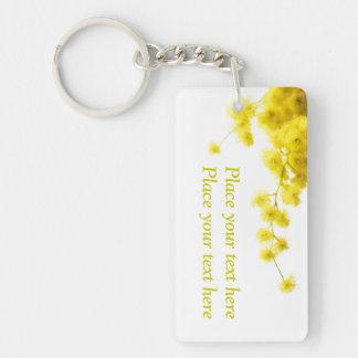 Mimosa Key Ring