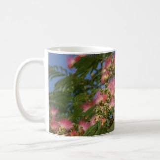 Mimosa tree photo coffee mug