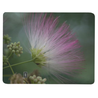 Mimosa Tree Pink Wildflower Floral Pocket Journal