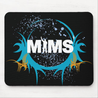 MIMS Button -  MIMS Logo Framed - Exclusive Mouse Pad