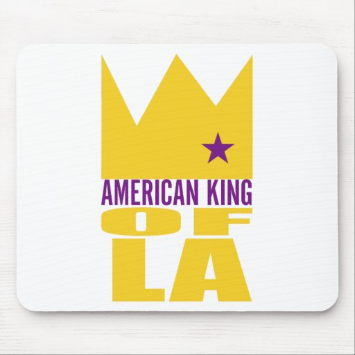 MIMS Mousepad -  American King of L.A.